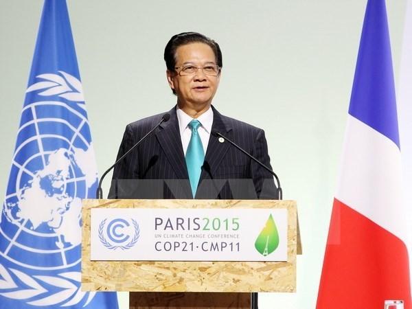 Destacan la gira del premier vietnamita por Francia, Belgica y UE hinh anh 1