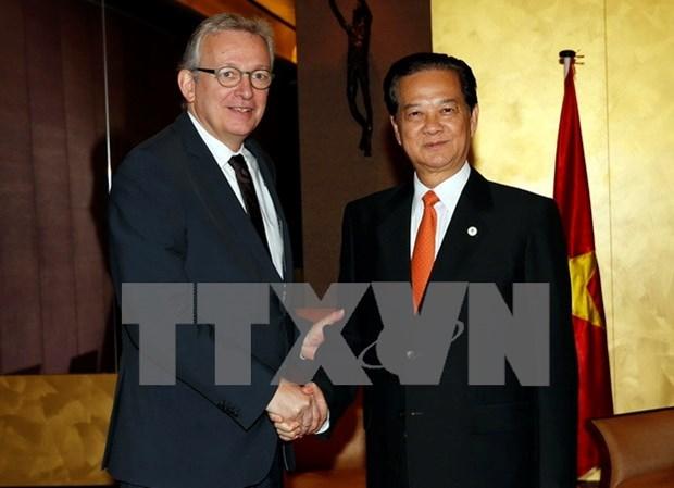 Vietnam y Francia se esfuerzan por impulsar asociacion estrategica hinh anh 1