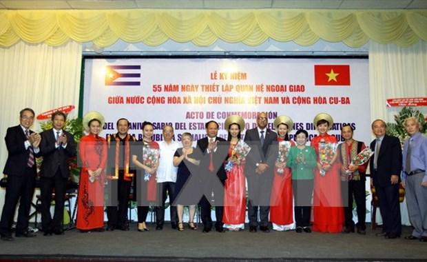 Destacan amistad y solidaridad entre Vietnam y Cuba hinh anh 1