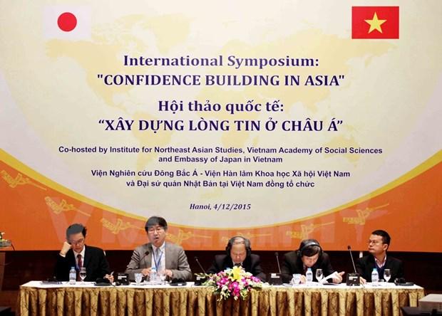 Consolidan confianza entre naciones para mantener paz y estabilidad en Asia hinh anh 1