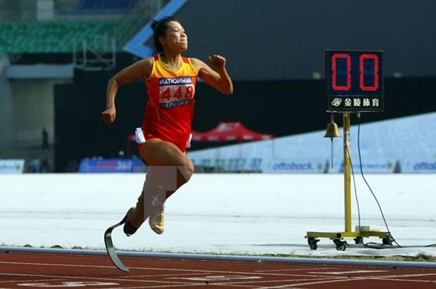 Inauguran VIII Juegos Paralimpicos de ASEAN en Singapur hinh anh 1