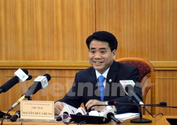 Nguyen Duc Chung elegido como nuevo presidente de Comite Popular de Hanoi hinh anh 1