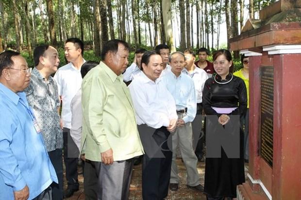Efectuaran programa conmemorativo al expresidente laosiano en Vietnam hinh anh 1