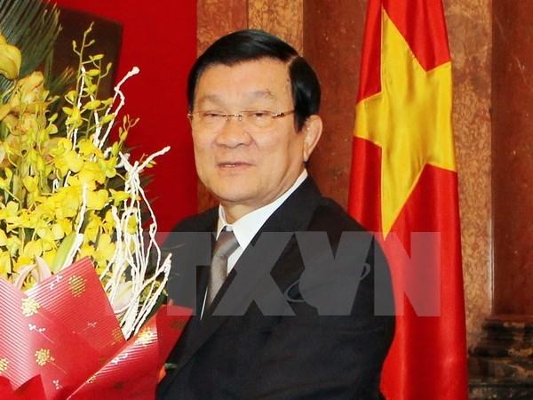 Presidente vietnamita se reune con electorado de Ciudad Ho Chi Minh hinh anh 1