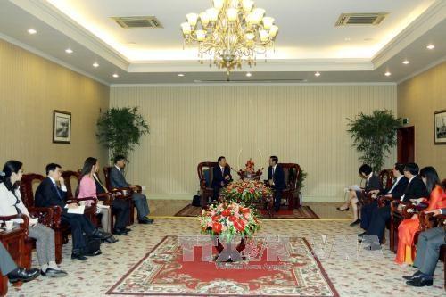 Ciudad Ho Chi Minh fomenta lazos de cooperacion con localidad china hinh anh 1