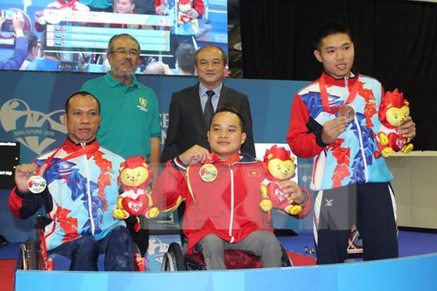 VIII Juegos Paralimpicos de ASEAN: mas medallas de oro para Vietnam hinh anh 1
