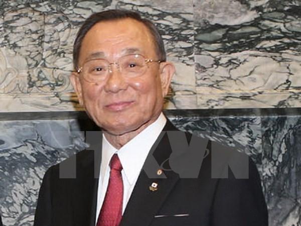 Presidente de Camara Alta de Japon inicia visita oficial a Vietnam hinh anh 1