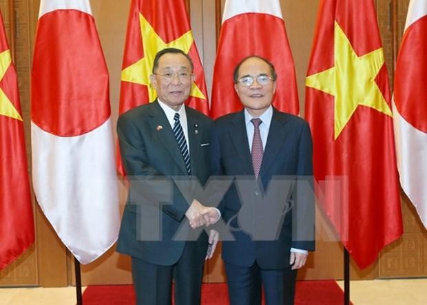 Vietnam y Japon fomentan cooperacion parlamentaria hinh anh 1
