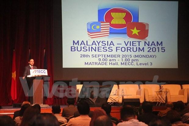 Malasia por aprovechar ventajas de AEC hinh anh 1