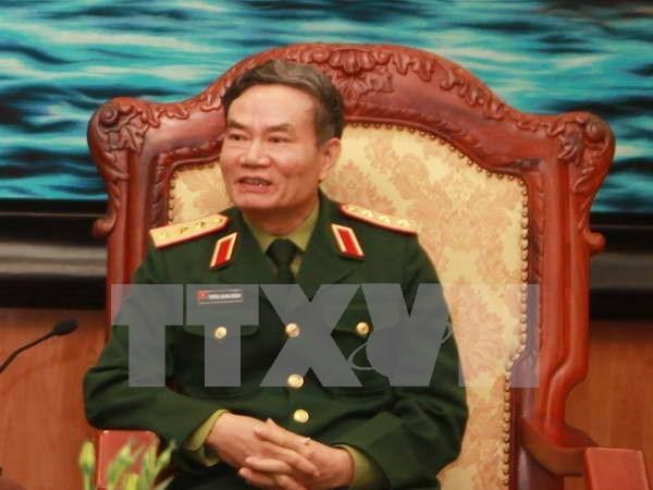 Viceministro de Defensa vietnamita recibe a veteranos ucranianos hinh anh 1
