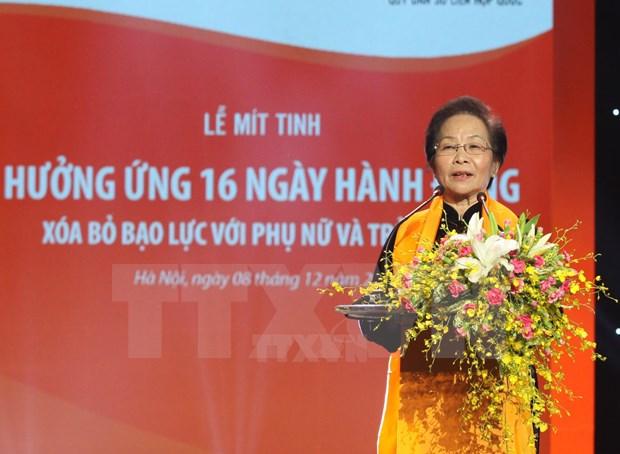 Vietnam prioriza igualdad de genero y empoderamiento de mujeres hinh anh 1