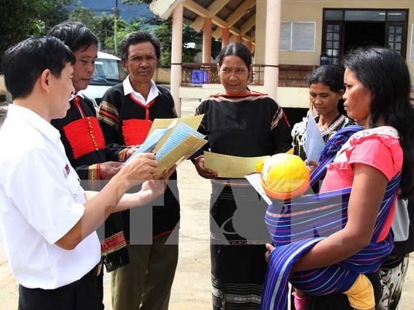 Vietnam promueve desarrollo de etnias minoritarias hinh anh 1
