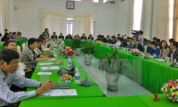 Japon desea cooperar con localidad vietnamita en desarrollo agricola hinh anh 1