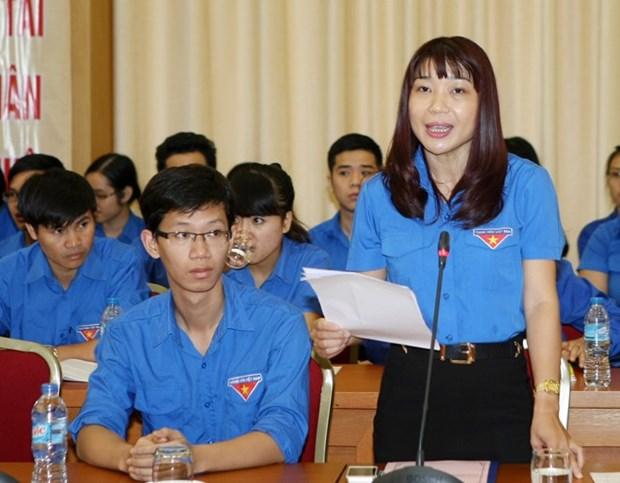 Jovenes de Hanoi expresan opiniones sobre ASEAN y TPP hinh anh 1