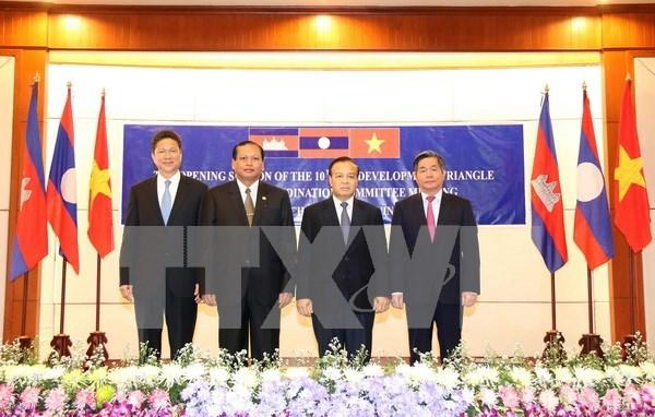 Efectuan reunion de Comite Coordinador Conjunto de Triangulo de Desarrollo hinh anh 1