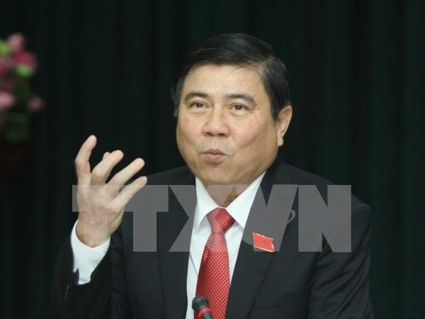 Elegido nuevo presidente del Comite Popular de Ciudad Ho Chi Minh hinh anh 1