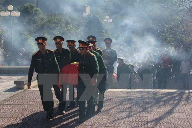 Vietnam repatria restos de militares estadounidenses hinh anh 1