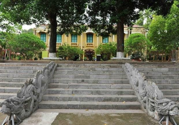 Hallan nuevos vestigios de arquitectura en ciudadela imperial Thang Long hinh anh 1