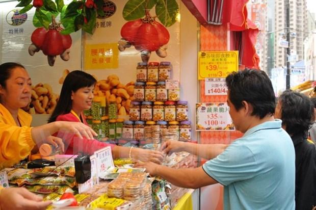 Anacardo vietnamita se exhibe en la mayor feria de Hong Kong hinh anh 1