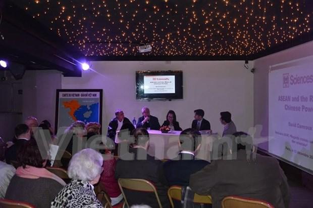 Efectuan en Paris coloquio internacional sobre Mar del Este hinh anh 1