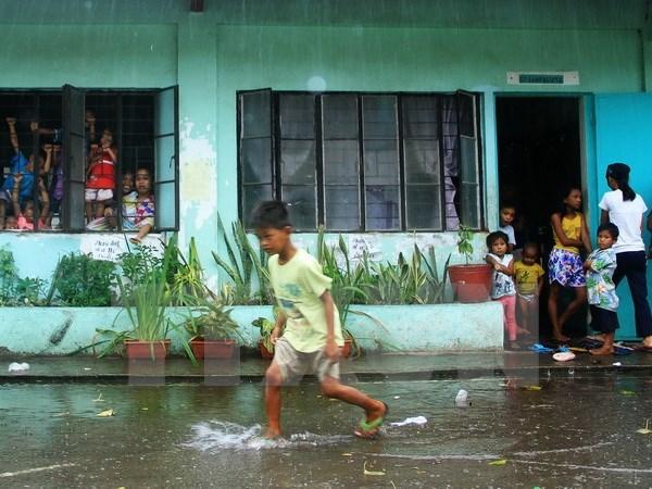 Filipinas: Al menos tres muertos por tifon Melor hinh anh 1
