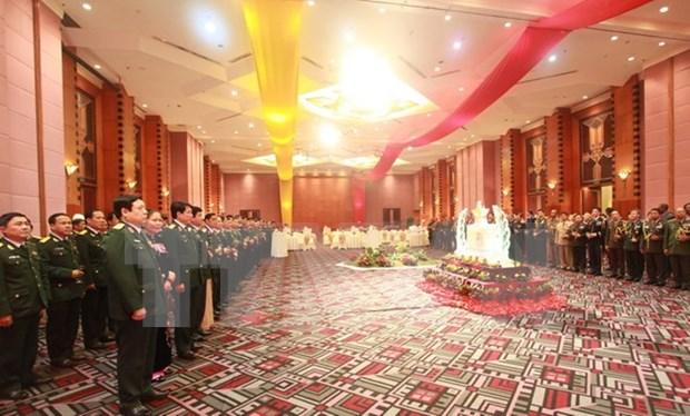 Conmemoran fundacion del Ejercito Popular de Vietnam hinh anh 1