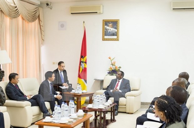 Vietnam y Mozambique enriquecen vinculos parlamentarios hinh anh 1