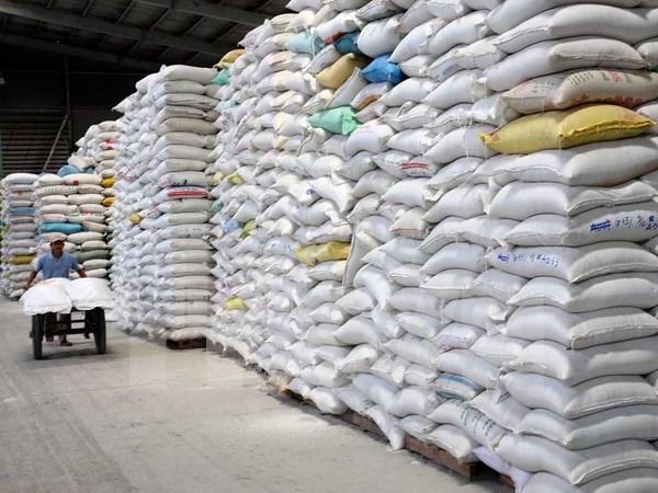 Laos planea aumentar exportacion de arroz a China hinh anh 1
