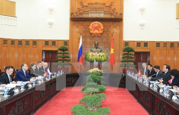 Intensifican cooperacion economica Vietnam-Rusia hinh anh 1
