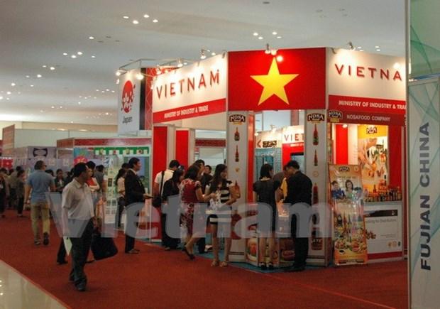 Empresas vietnamitas buscan oportunidades comerciales en feria en Cambodia hinh anh 1