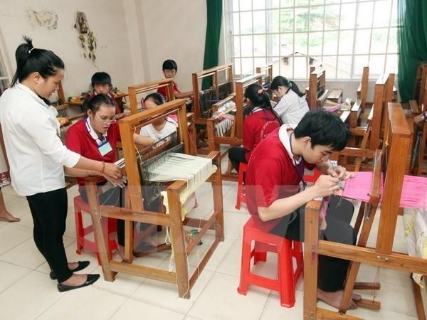 Promueven en Vietnam inclusion social de personas con discapacidad hinh anh 1