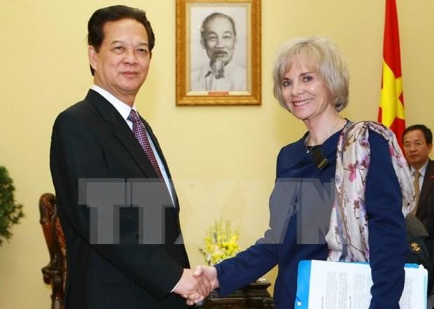Premier vietnamita destaca asociacion estrategica con Francia hinh anh 1