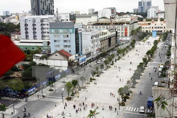 En alza llegada de turistas extranjeros a Ciudad Ho Chi Minh hinh anh 1