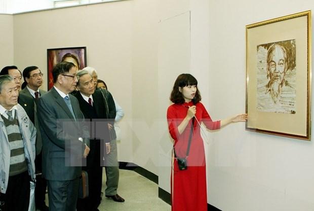 Evaluan actividades en extranjero en honor al Presidente Ho Chi Minh hinh anh 1