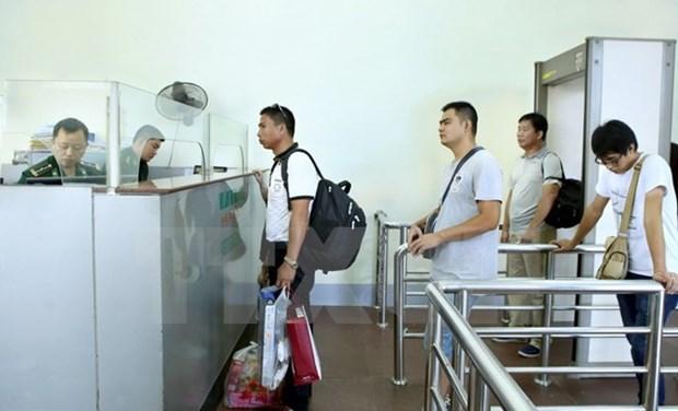 Permiten pasar caravanas turisticas por zonas fronterizas Vietnam- China hinh anh 1