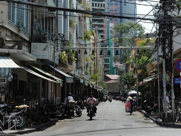 Calle de antiguedades: matiz distintivo en Ciudad Ho Chi Minh hinh anh 1