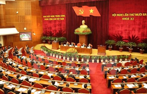 Comite Central del PCV debate labores de personal hinh anh 1