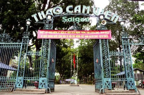 Jardin botanico y zoologico de Saigon de 150 anos hinh anh 1