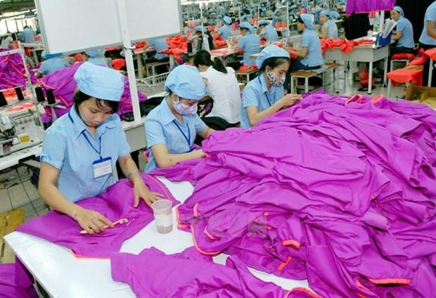 Vietnam, uno de cinco mayores exportadores mundiales de textiles hinh anh 1
