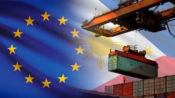UE y Filipinas acuerdan iniciar negociaciones de TLC hinh anh 1