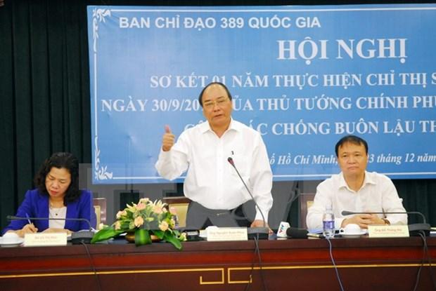 Vietnam energiza combate contra contrabando de cigarrillos hinh anh 1