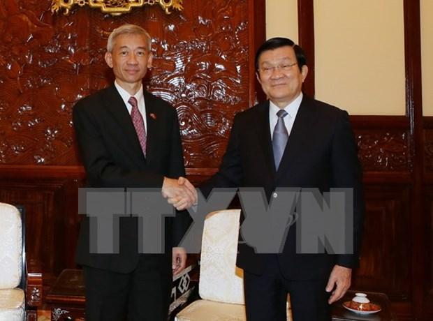 Patentiza Vietnam alta consideracion a asociacion estrategica con Tailandia hinh anh 1