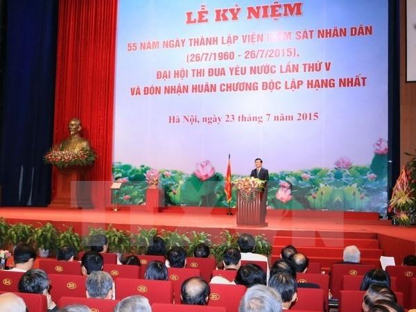 Presidente vietnamita urge elevar eficiencia de lucha contra delincuencia hinh anh 1