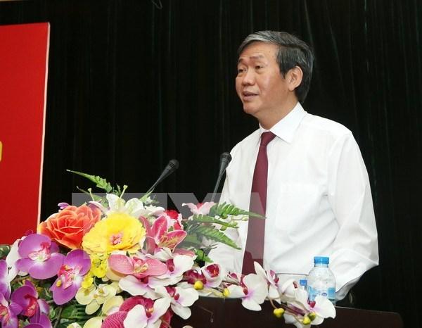 Exhorta dirigente partidista impulso de labores de estimulo al pueblo hinh anh 1