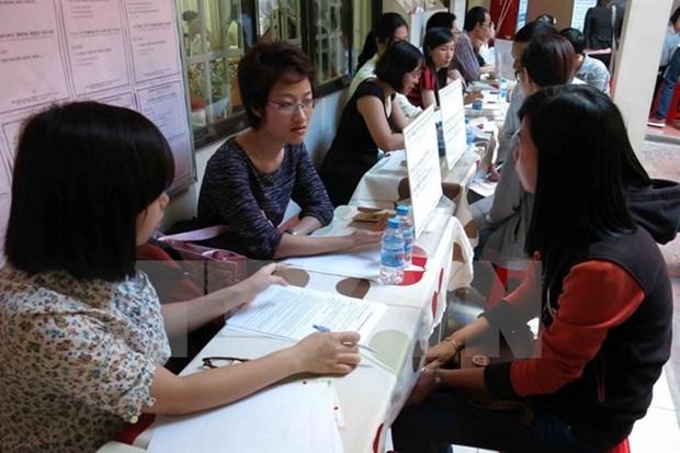 Tasa de desempleo en Vietnam se mantiene baja hinh anh 1