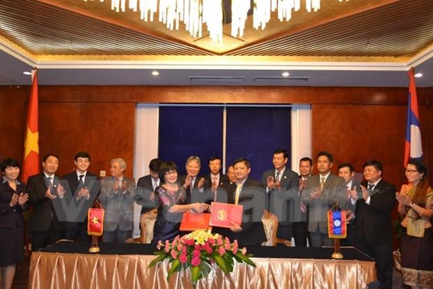 Vietnam y Laos cooperan en sector judicial hinh anh 1