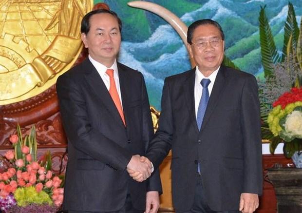 Laos valora asistencia vietnamita a garantia de seguridad hinh anh 1