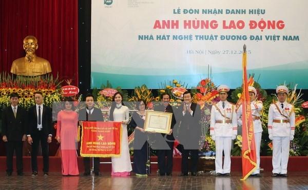 Honran a Teatro de Artes Contemporaneas de Vietnam hinh anh 1