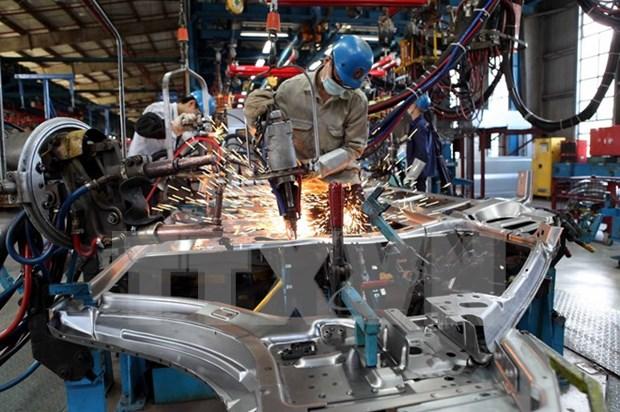Indice de produccion industrial en Vietnam alcanza mayor aumento en el lustro hinh anh 1