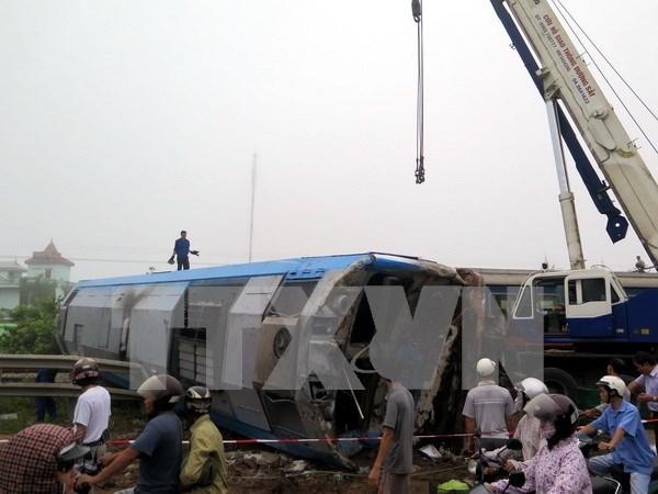 Accidentes de trafico en Vietnam se reducen en 2015 hinh anh 1